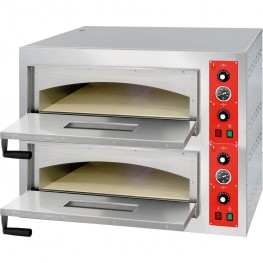 Stalgast Piec do pizzy 2x4 fi 320 mm